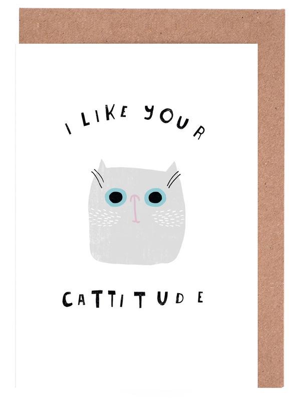 Catisfaction 6 Greeting Card Set