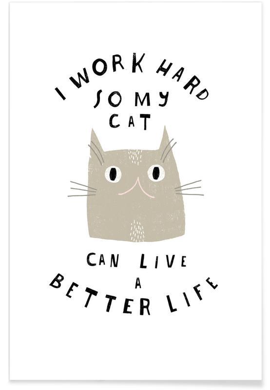 Katzen, Catisfaction 12 -Poster
