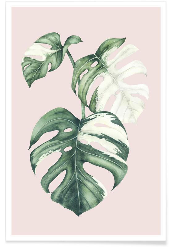 Bladeren en planten, Tropical No. 4 poster