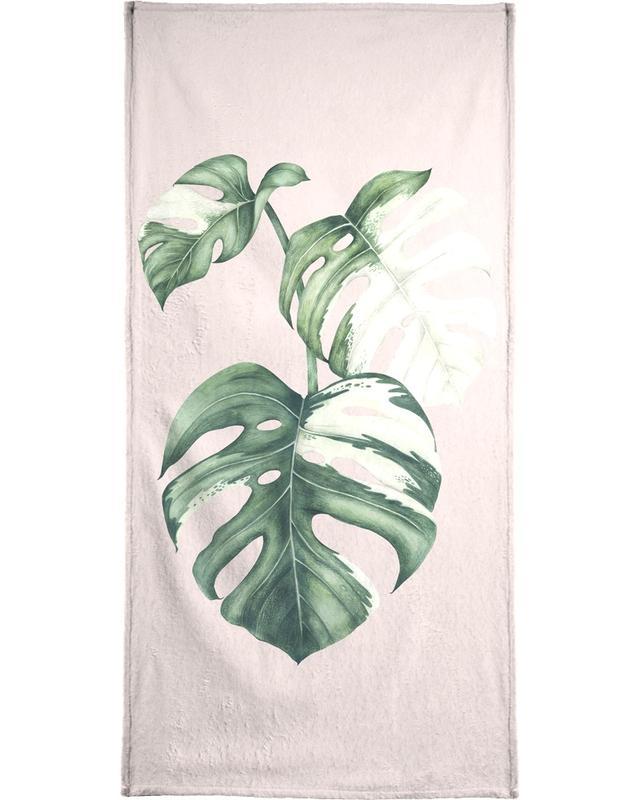 Blätter & Pflanzen, Tropical No. 4 -Strandtuch