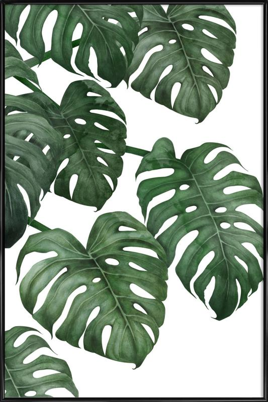 Tropical No. 6 -Bild mit Kunststoffrahmen