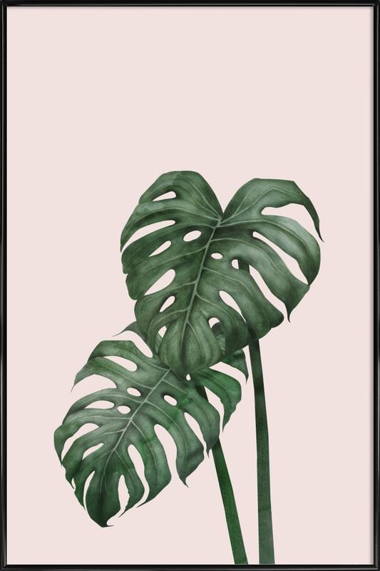 Tropical No. 9 ingelijste poster