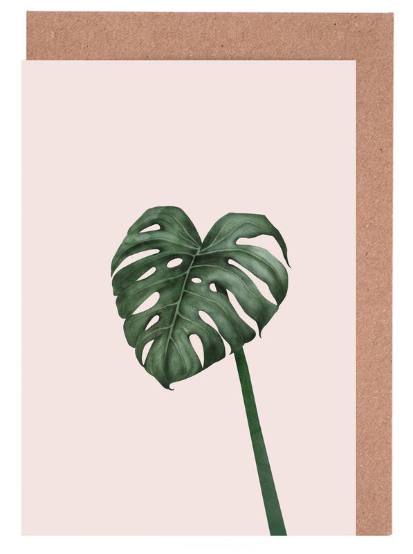 Blätter & Pflanzen, Tropical No. 10 -Grußkarten-Set