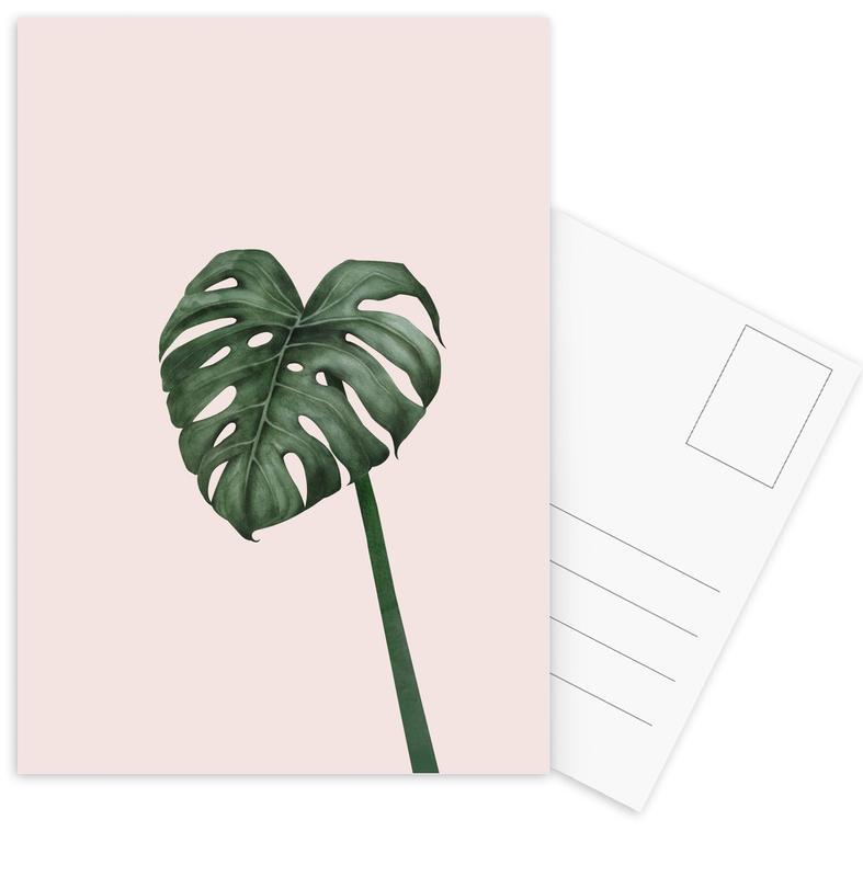 Bladeren en planten, Tropical No. 10 ansichtkaartenset