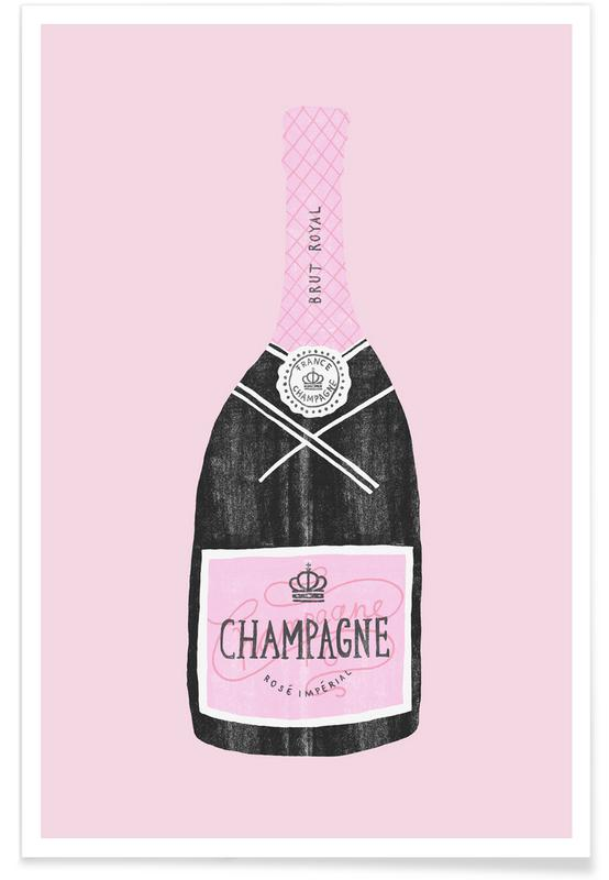 Congratulations, Wine, Birthdays, Weddings, Champagne Poster