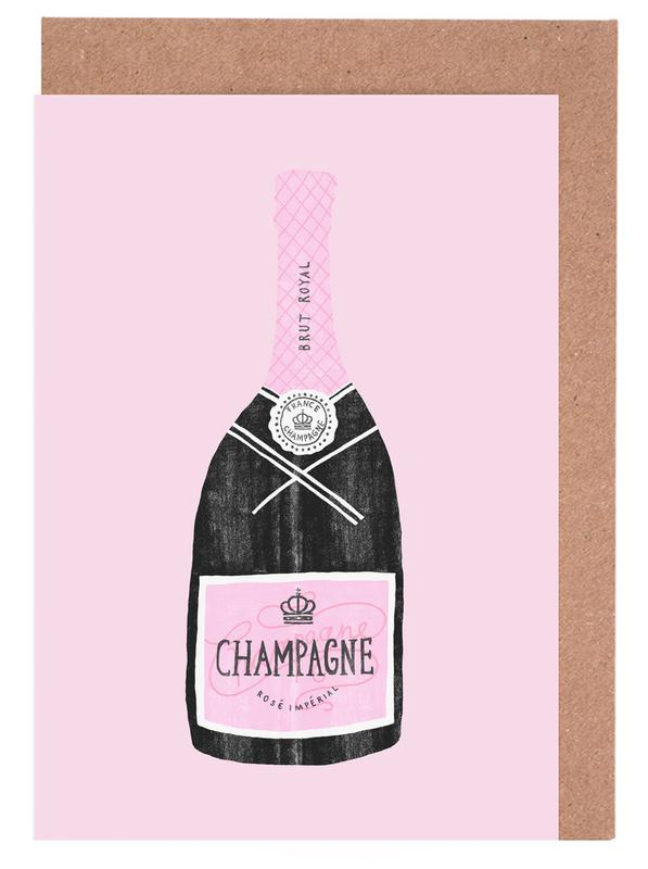 Champagne Greeting Card Set
