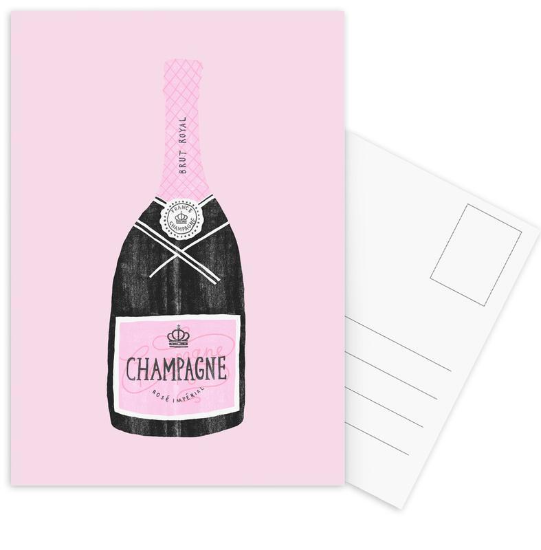 Champagne Postcard Set