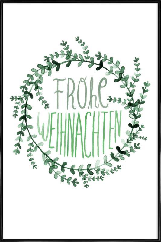Evergreen No. 3 -Bild mit Kunststoffrahmen