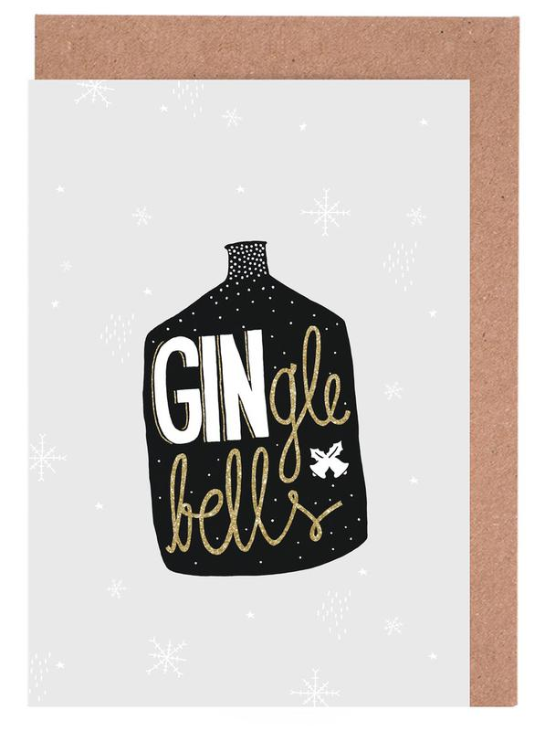 GINgle Bells -Grußkarten-Set