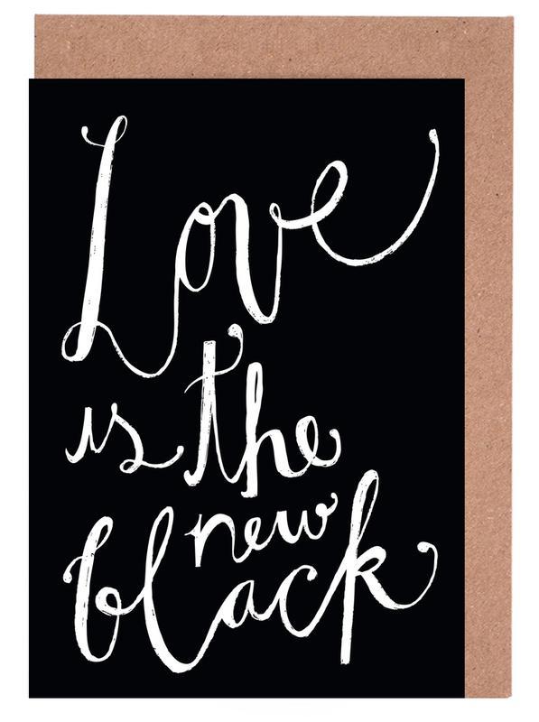 Love No.1 -Grußkarten-Set