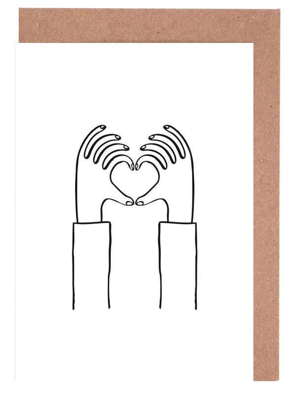Heart You Greeting Card Set