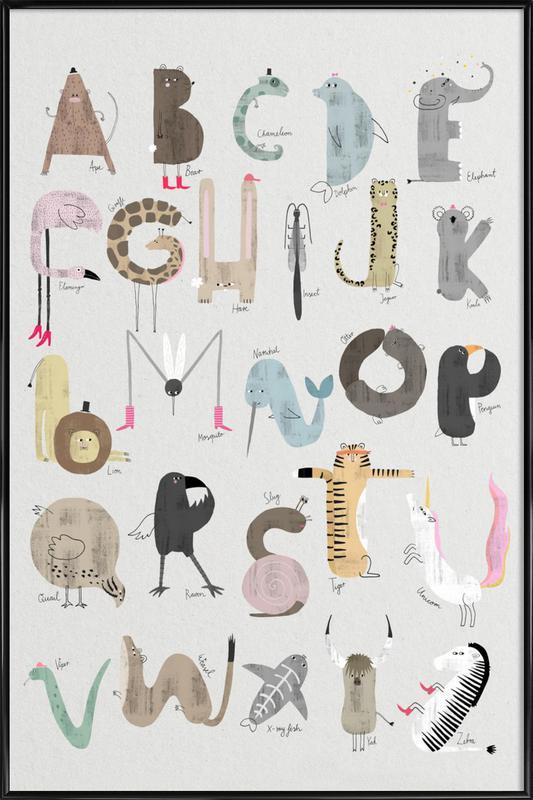 ABC Kids - English Poster i standardram