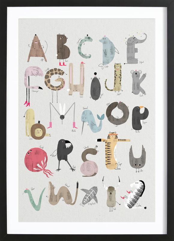 ABC Kids Framed Print