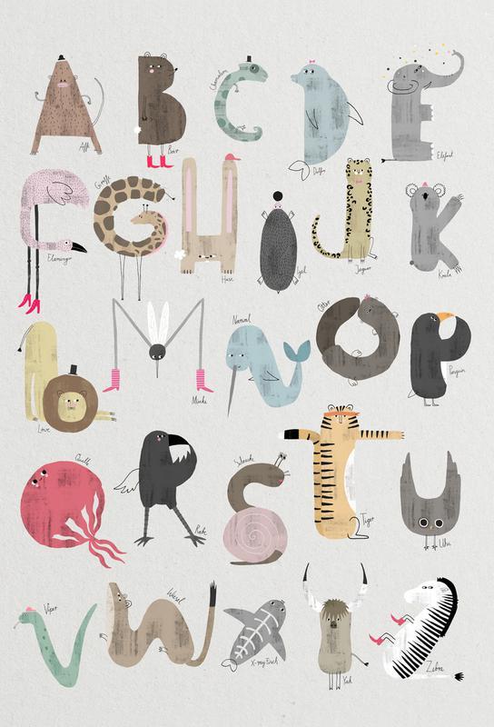 ABC Kids Acrylic Print