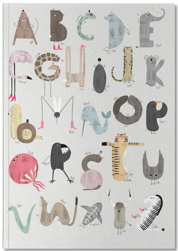 Alphabet & Letters, Nursery & Art for Kids, ABC Kids Notebook