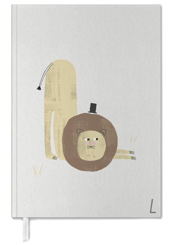 Lions, Nursery & Art for Kids, Alphabet & Letters, ABC Kids - L Personal Planner