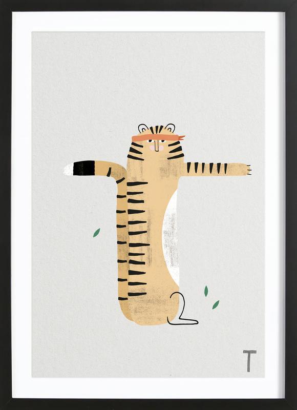 ABC Kids - T Framed Print