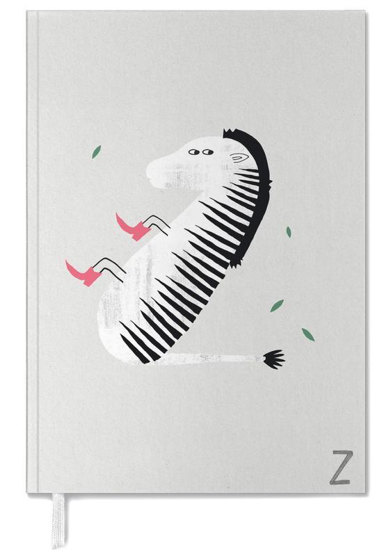 Zebras, Nursery & Art for Kids, Alphabet & Letters, ABC Kids - Z Personal Planner