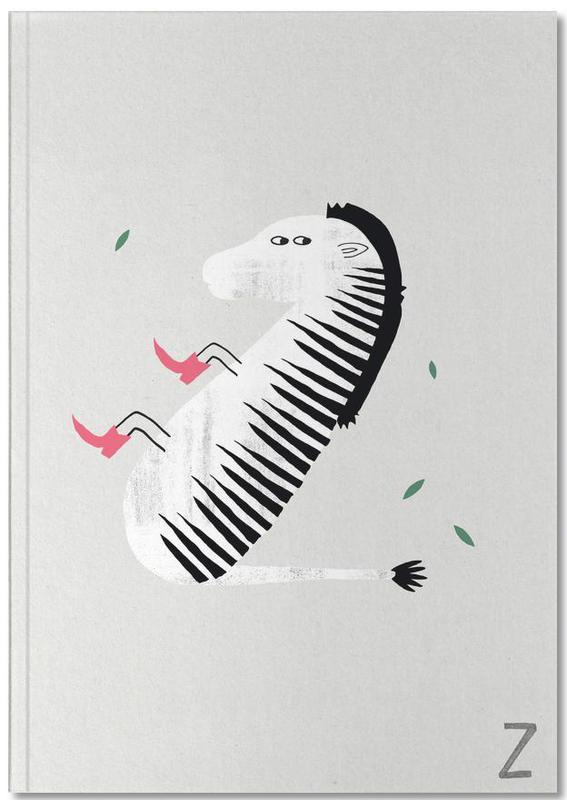 Zebra's, Alfabet en letters, Kunst voor kinderen, ABC Kids - Z Notebook