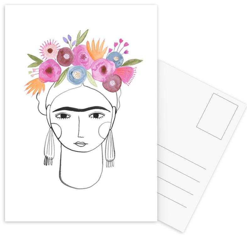 Beautiful Frida Postcard Set
