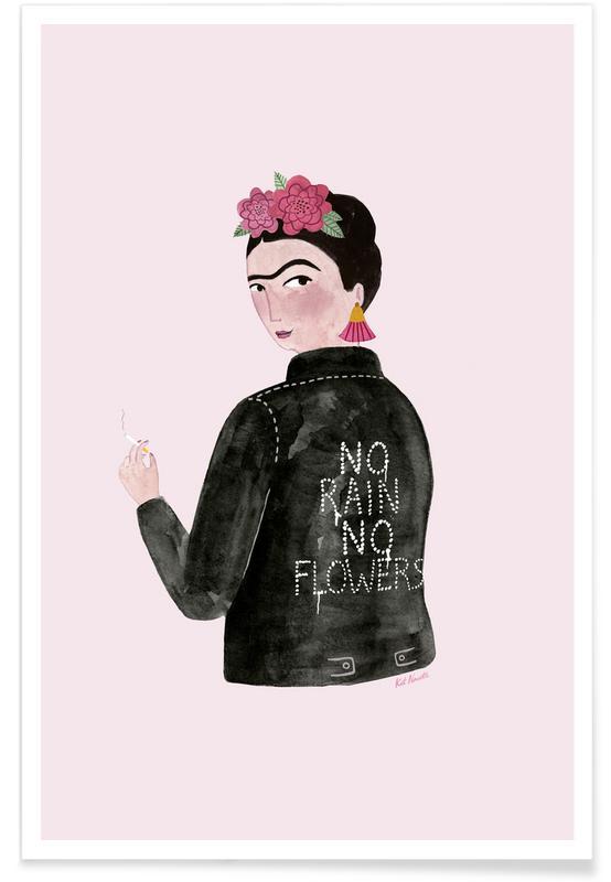 Frida Rocks Poster
