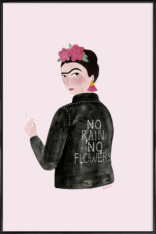 Frida Rocks affiche encadrée