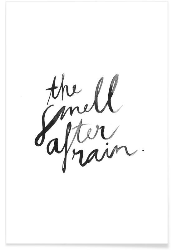 Noir & blanc, Citations et slogans, The Smell affiche