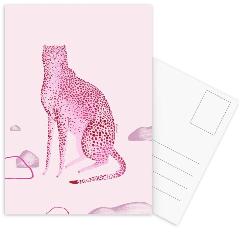 Wild Cats No.1 Postcard Set