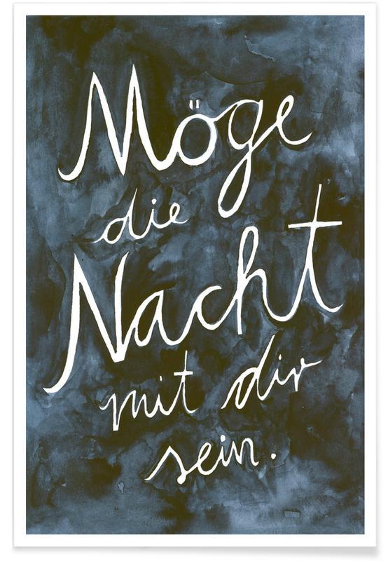 Motivation, Citations et slogans, Nacht affiche