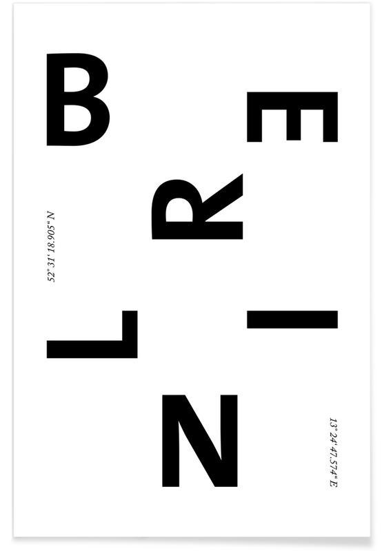 Berlin Cities -Poster
