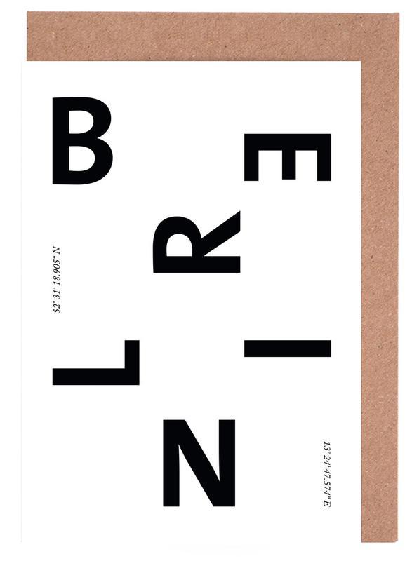 Berlin Cities -Grußkarten-Set