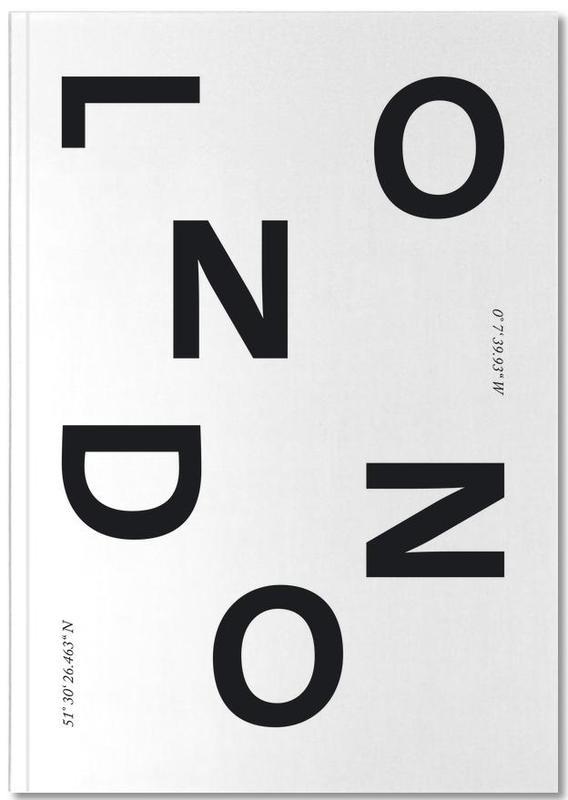 Black & White, London, Cities - London Notebook