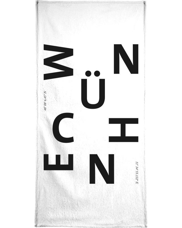 Cities - München -Handtuch
