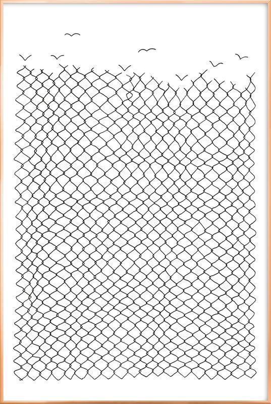 Boundless Poster in Aluminium Frame