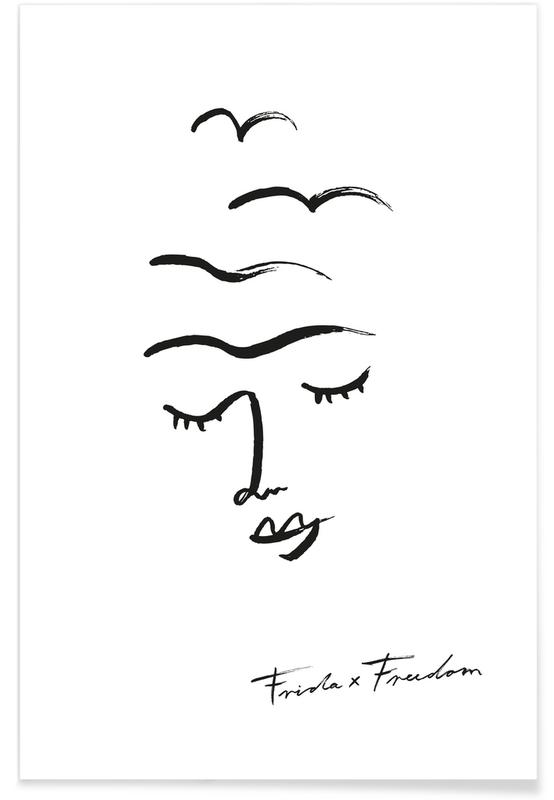 Frida X Freedom Poster