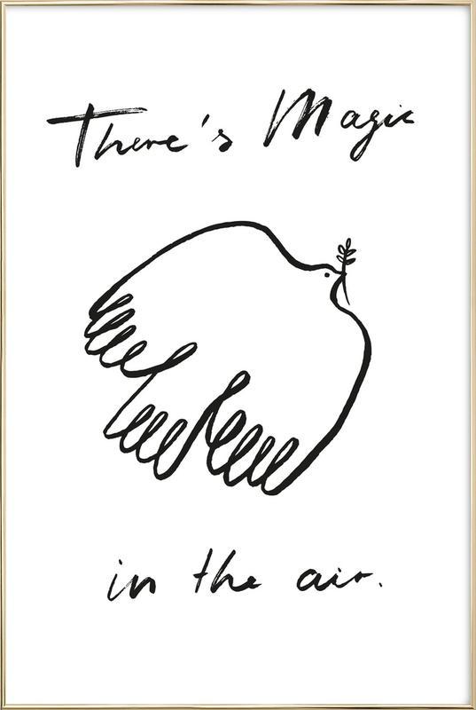 Magic In The Air Poster in Aluminium Frame
