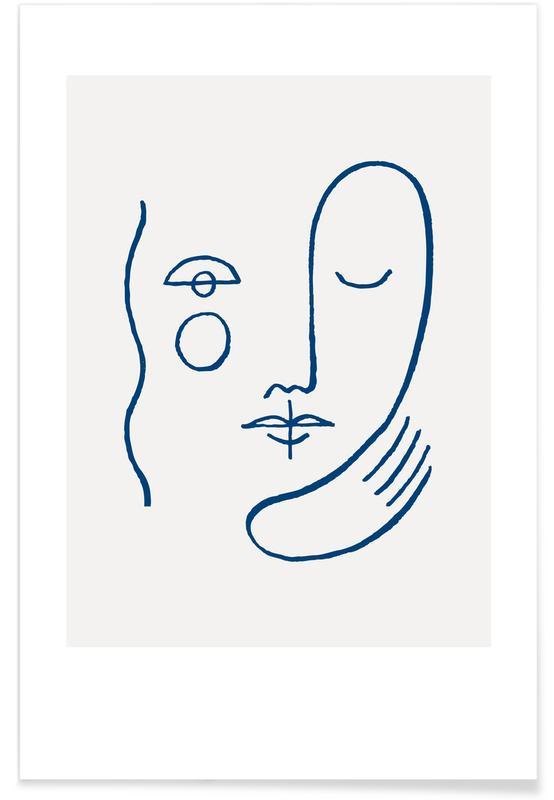 , Faces No. 1 affiche