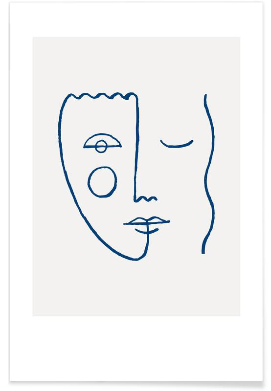 , Faces No. 2 affiche