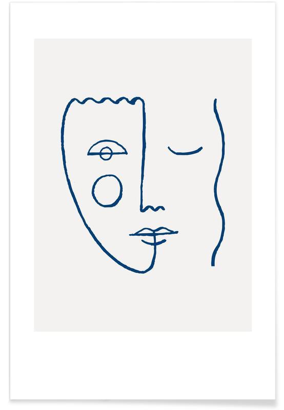 Faces No. 2 Poster