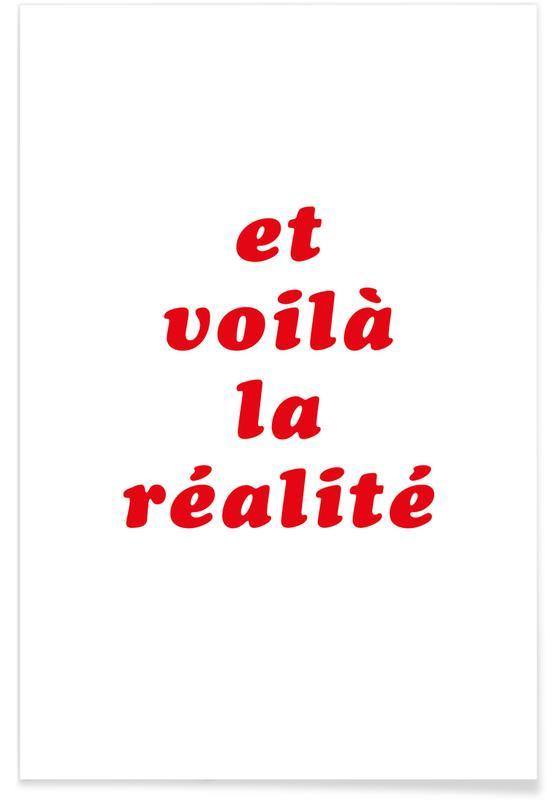 Realite No. 3 -Poster