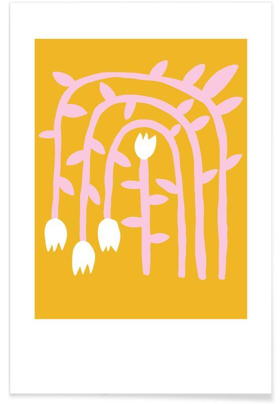 Kunst voor kinderen, Flowery 01 poster