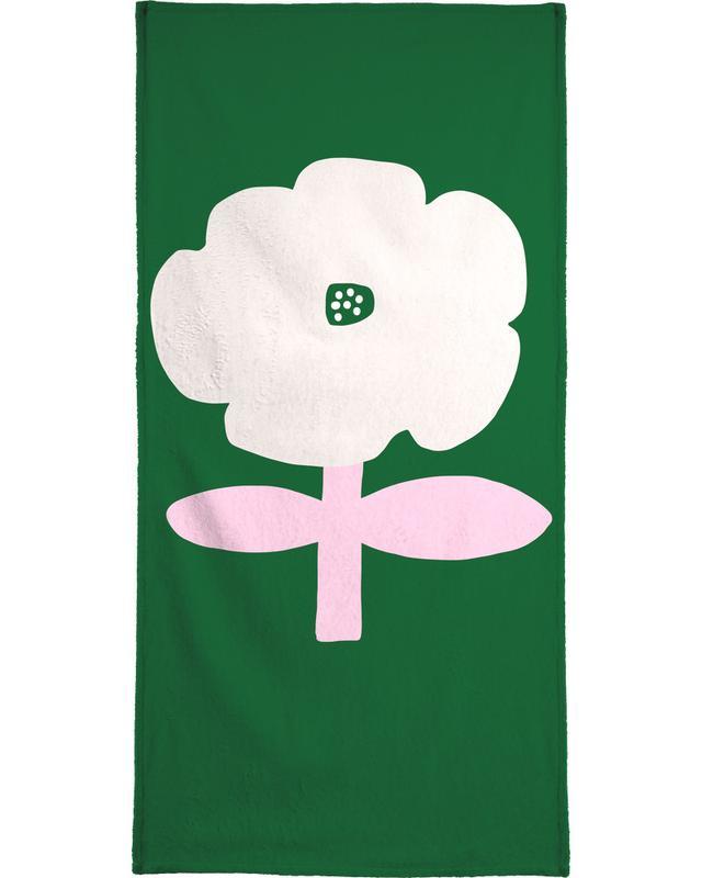 Flowery 04 serviette de bain