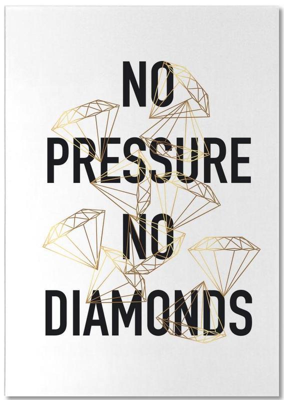 No Pressure bloc-notes
