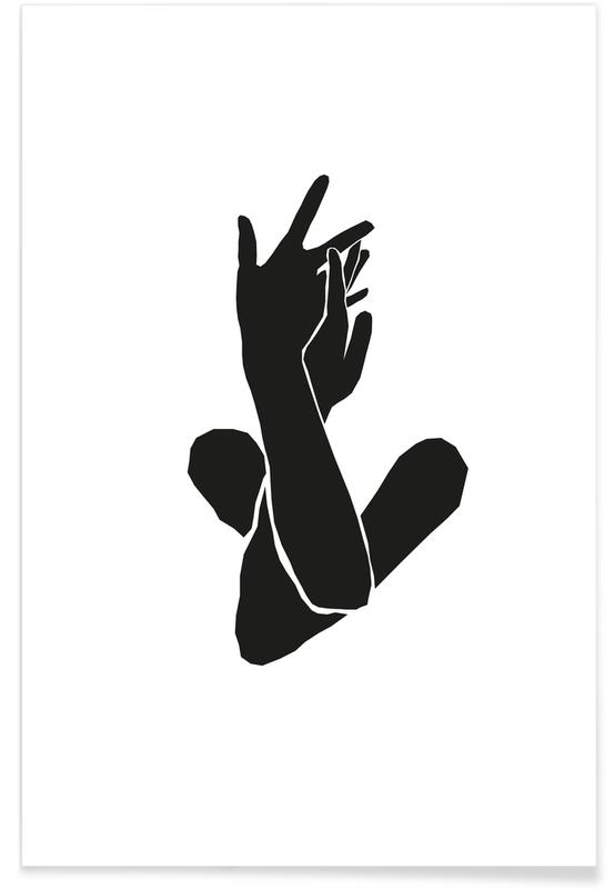 Détails corporels, Verschlungen Nr.2 affiche