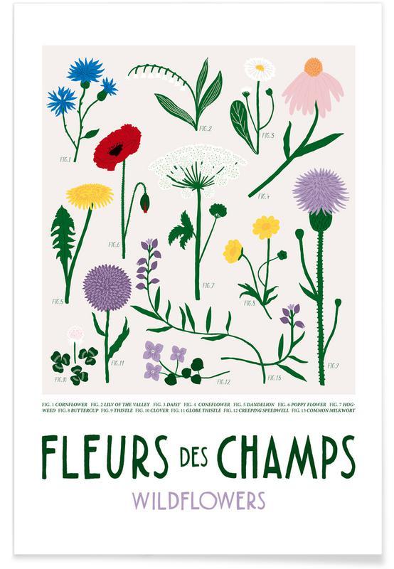, Wildflowers affiche
