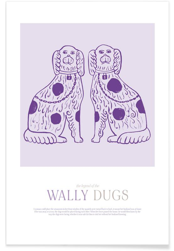 Cats, Wally Dugs Poster