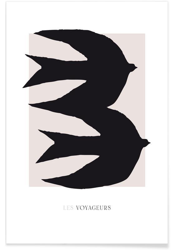 , Les Voyageurs No. 2 -Poster