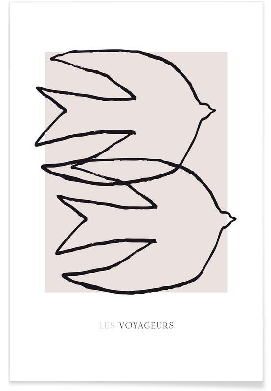 , Les Voyageurs No. 1 affiche