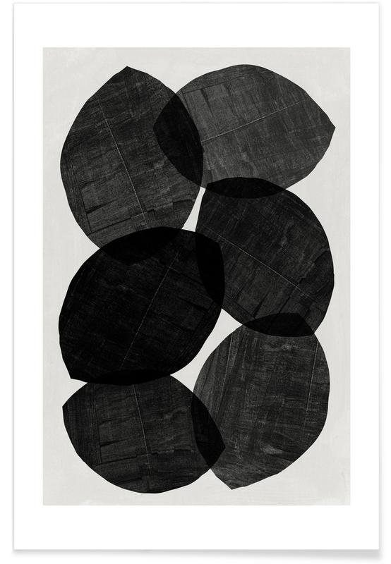 , Layered Forms No. 3 affiche