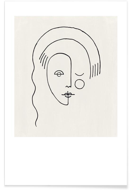 Portraits, Faces No. 3 affiche